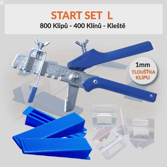 Nivelační startovací set Eko L 1 mm, 1 kus