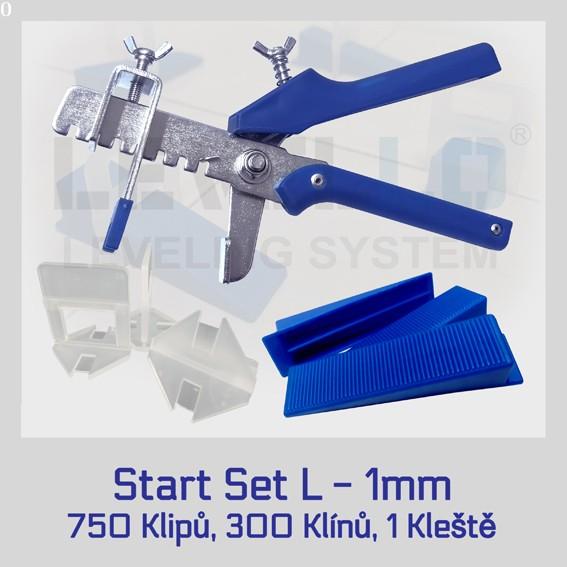 Nivelační startovací set Klasik L 1 mm, 1 kus