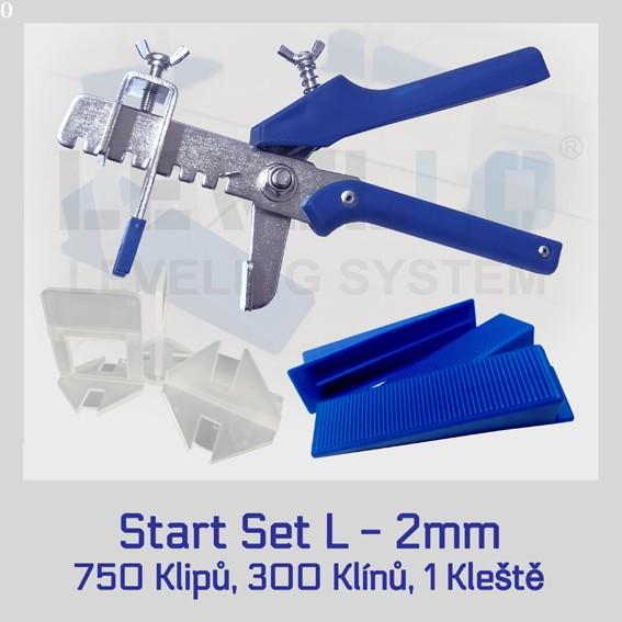 Nivelační startovací set Klasik L 2 mm, 1 kus