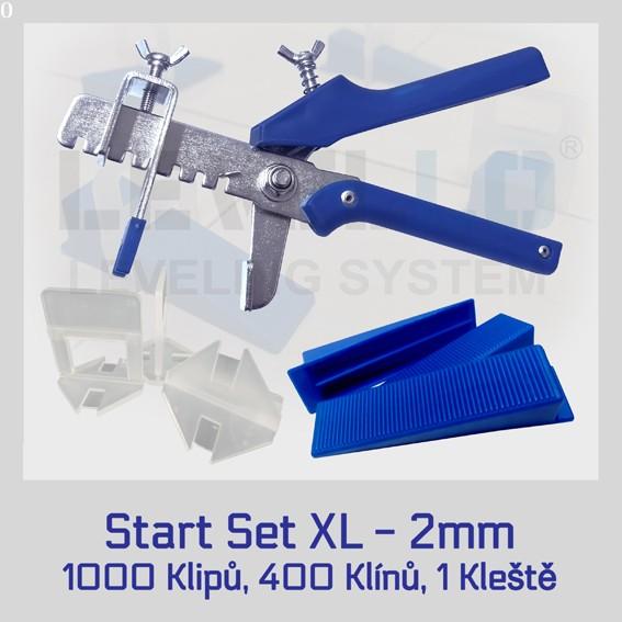 Nivelační startovací set Klasik XL 2 mm, 1 kus